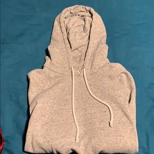 Crop Top pullover with hood